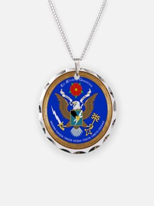 ASA_Seal_Tshirt_BW Necklace
