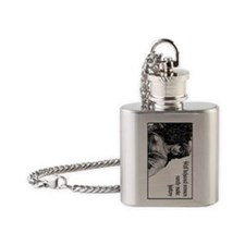 well behaved women Flask Necklace