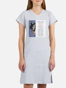 TCT9wht Women's Nightshirt
