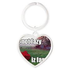 lolmeeple_magnet Heart Keychain