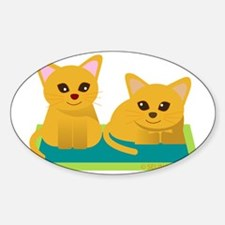 2cat and cat Decal