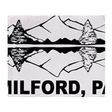 Milford, PA Throw Blanket