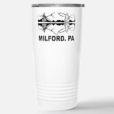 Milford, PA Travel Mug