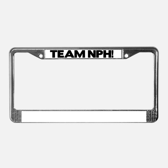 teamnph License Plate Frame