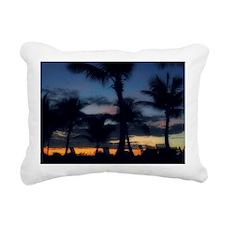 CC - POOL SUNSET Rectangular Canvas Pillow