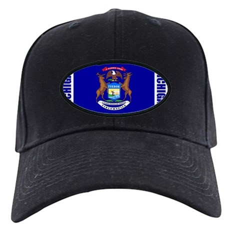 LP-michigan-flag Black Cap