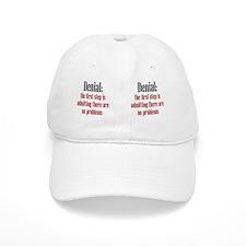 denial_mug1 Baseball Cap