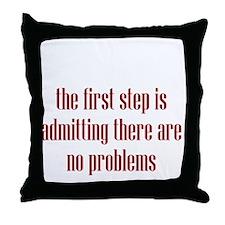 denial4 Throw Pillow