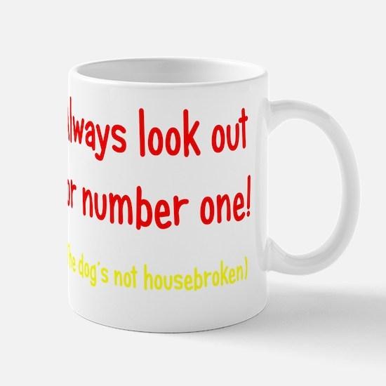 housebroken3 Mug