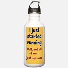 started-running_tall2 Water Bottle