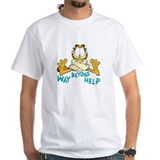 Garfield Mens White T-shirts