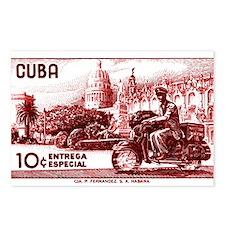Vintage 1958 Cuba Special Delivery Postage Stamp P