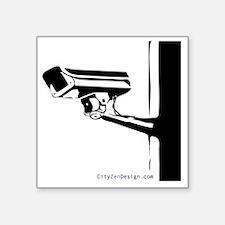 "Watching-you_20 Square Sticker 3"" x 3"""