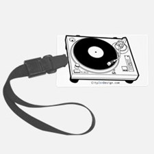 record-player_20 Luggage Tag