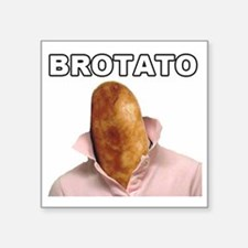 "brotato big Square Sticker 3"" x 3"""