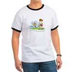 Odie walk in the Park Ringer T