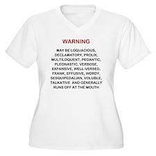 Warning new LG 20 T-Shirt