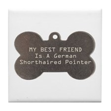 Friend Pointer Tile Coaster