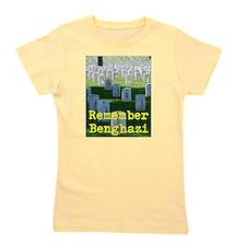 Remember Benghazi Girl's Tee