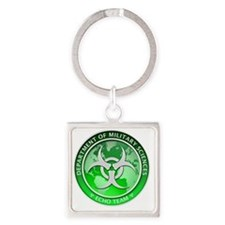 DMS-MABERRY-ECHO-LARGE Square Keychain