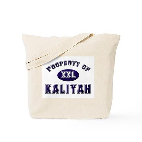 Property of kaliyah Tote Bag