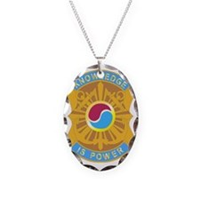 DUI - 163rd Military Intellige Necklace