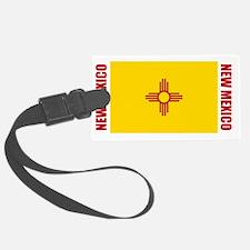 LP-new-mexico-flag Luggage Tag