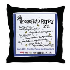 Tshirt front Throw Pillow