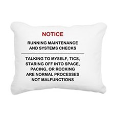 Running Okay LG 2999x224 Rectangular Canvas Pillow