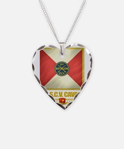 3rd SCV Cavalry (flag 10) Necklace