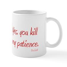 castle kill my patience  Small Mug