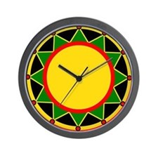 Jah Crown Wall Clock