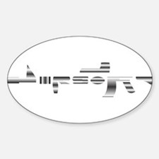 Airsoft Rifle Decal
