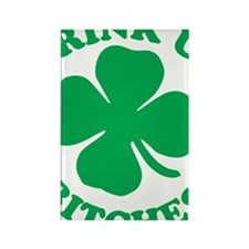 clover Rectangle Magnet