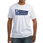 Palm Springs Library Fitted T-Shirt