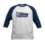 Palm Springs Library Kids Baseball Jersey
