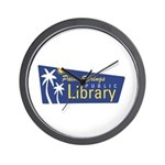 Palm Springs Library Wall Clock