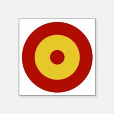 "Spain Square Sticker 3"" x 3"""