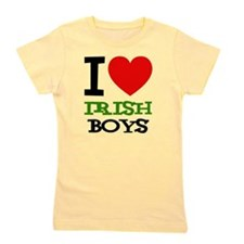 i-love-d-black-irish Girl's Tee