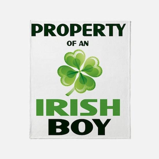 prop-irish Throw Blanket