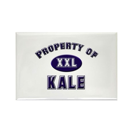 Property of kale Rectangle Magnet