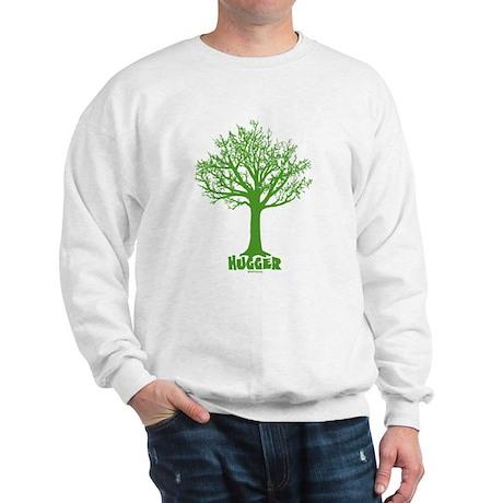 TREE hugger (dark green) Sweatshirt