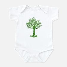 TREE hugger (dark green) Infant Bodysuit