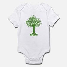 TREE hugger (dark green) Onesie