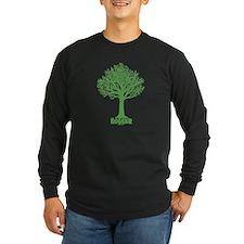 TREE hugger (dark green) T