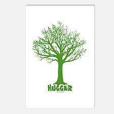 TREE hugger (dark green) Postcards (Package of 8)