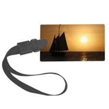small cruise poster Luggage Tag