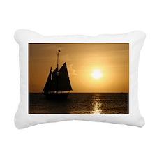 small cruise poster Rectangular Canvas Pillow