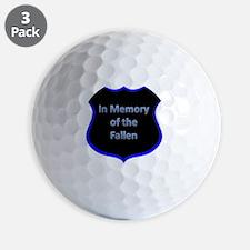 Fallenbadge Golf Ball