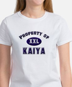 Property of kaiya Tee